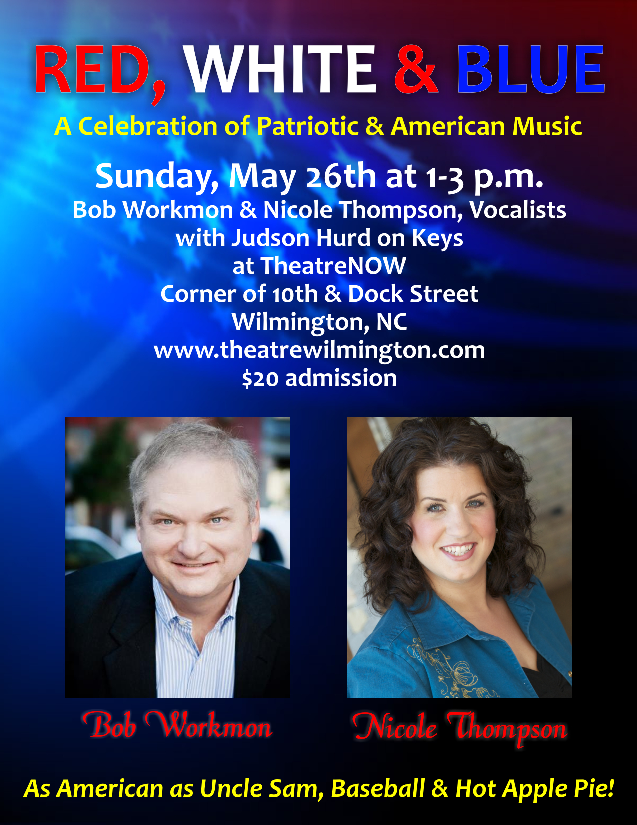 RED, WHITE & BLUE: A Celebration of Patriotic & American Music