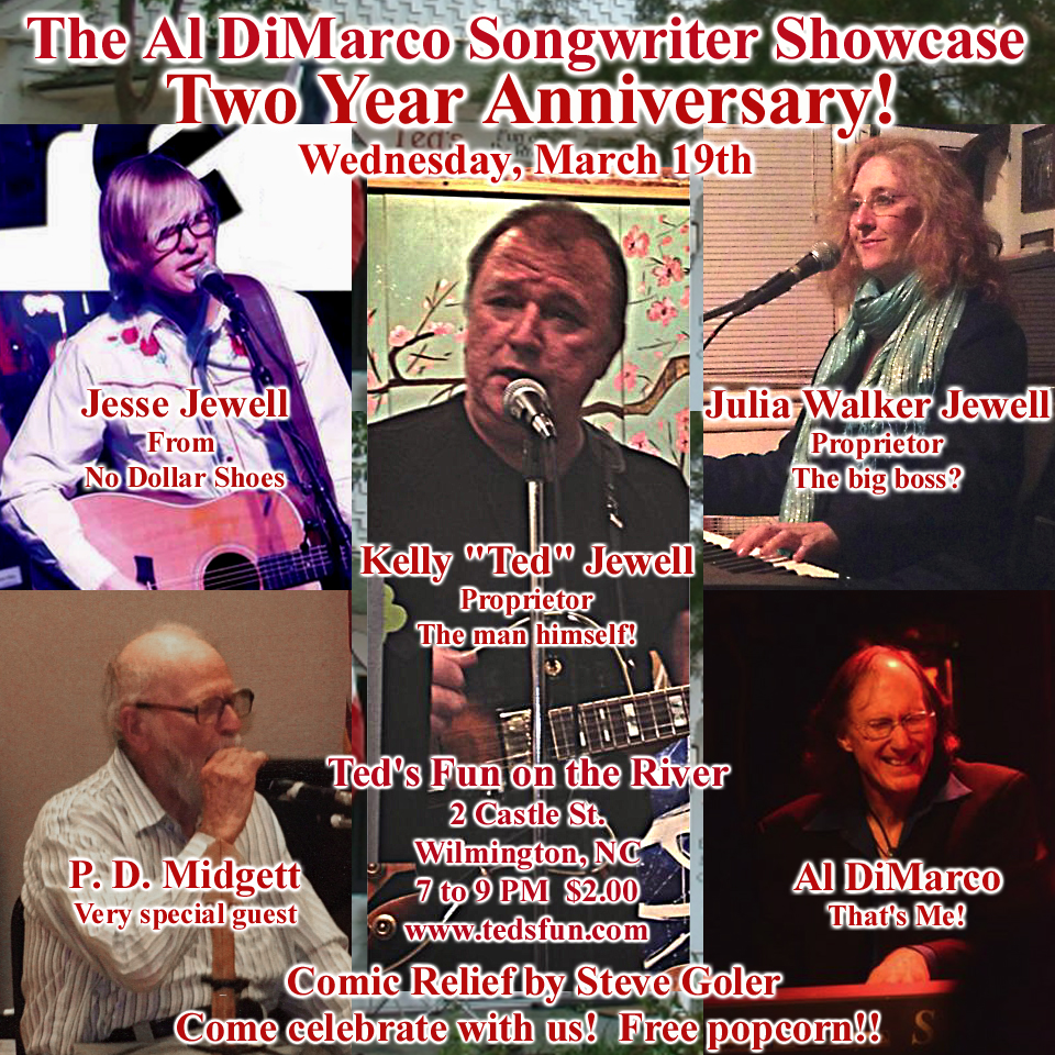 The Al DiMarco Songwriter Showcase