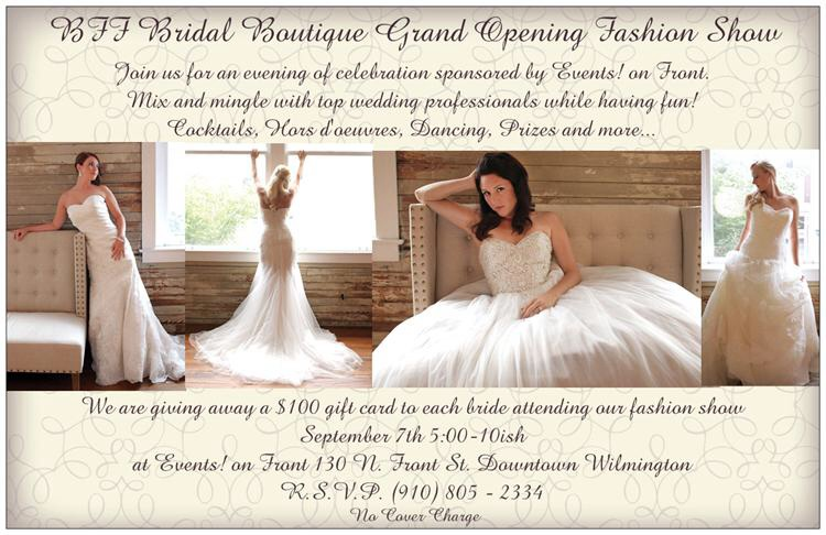 BFF Bridal Boutique Grand Opening Party and Fashion Show