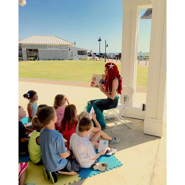 Kure Beach Story Time by the Sea