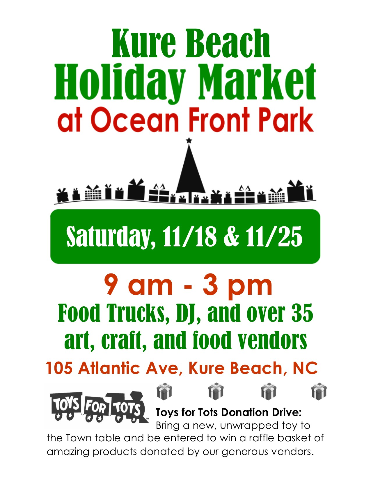 Kure Beach Holiday Market